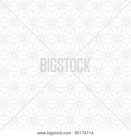 Subtle geometrical pattern