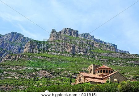 Montserrat Mountain, In Spain