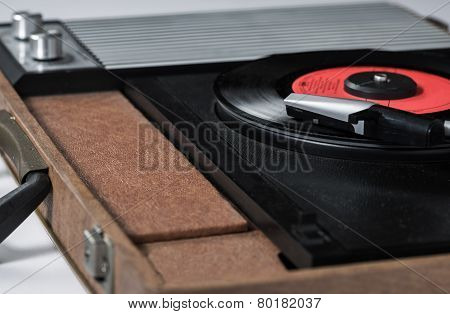 Record Player Desaturate