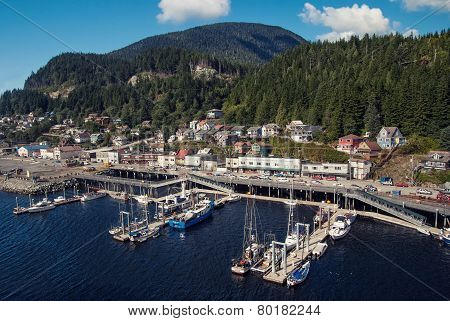Small Alaskan Port City