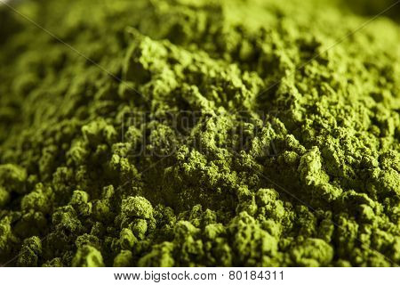 Raw Organic Green Matcha Tea