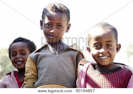 Portrait Of The African Boys.