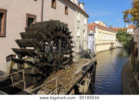 Watermill at Certovka river