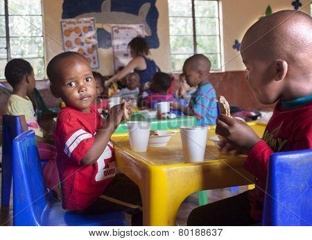 Zulu Children at a Creche.