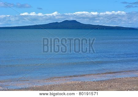 Rangitoto Island Landscape New Zealand