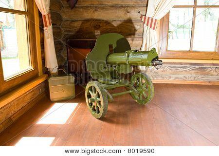"""Old World War Ii Machine Gun """"maksim"""""""