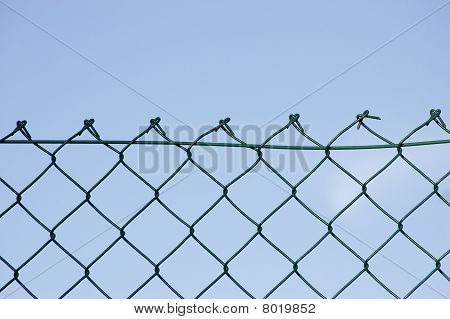 New Wire Security Fence