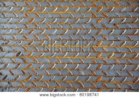 The Surface Of A Metal Sheet