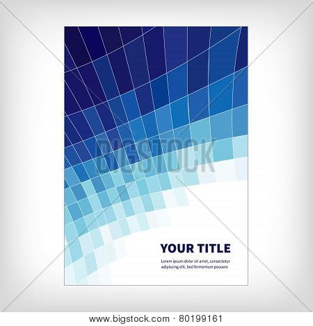 dynamics abstract brochure background