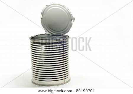 Opened Tin Can