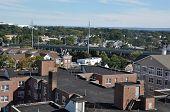 stock photo of amtrak  - View of Stamford - JPG