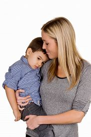 image of stepmother  - mother and son symbol of love - JPG
