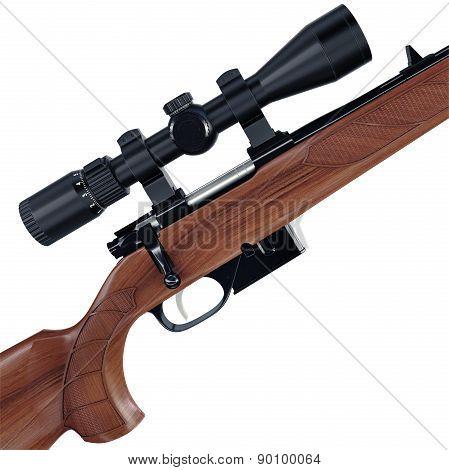 Huntsman sniper gun
