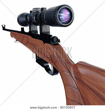 Sport sniper rifle