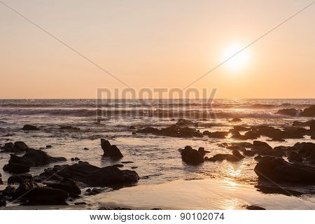 Sunset in the Pacific