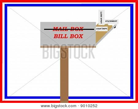 Financial Stress Mail Box
