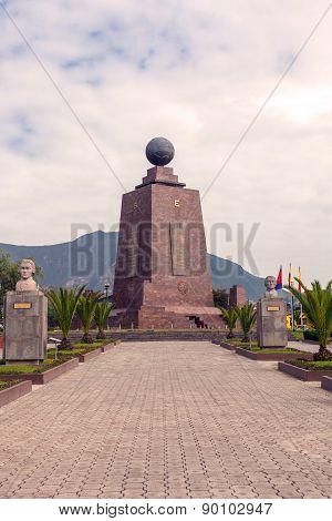 Center of the world, Mitad del Mundo, south america