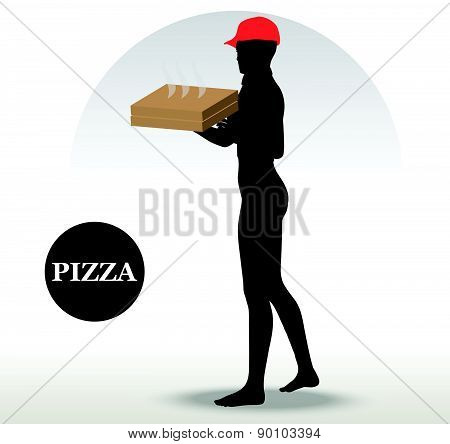 Pizza Delivery Person