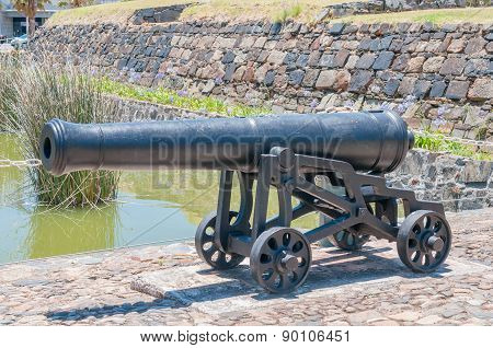 Cannon At The Entrance To The Castle Of Good Hope