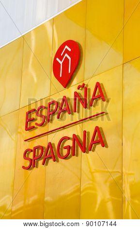 MILAN, ITALY - MAY 06, 2015: Spain Pavilion At Expo 2015