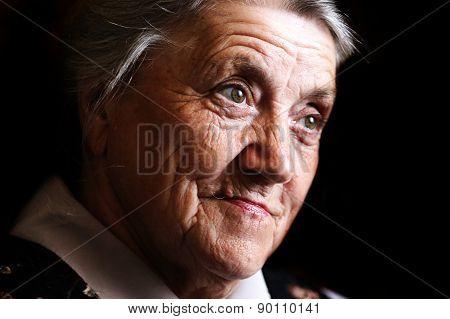 Granny face