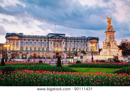 Buckingham Palace In London, Great Britain