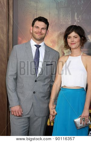 LOS ANGELES - MAY 7:  Josh Helman at the Mad Max: Fury Road Los Angeles Premiere at the TCL Chinese Theater IMAX on May 7, 2015 in Los Angeles, CA