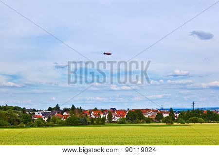 Zeppelin On Sky On A Tour Sponsored By The Hessentag