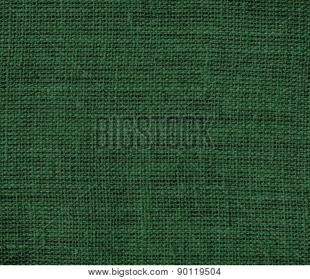 Cal Poly green color burlap texture background