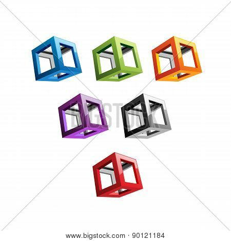 Varicoloured Cubes