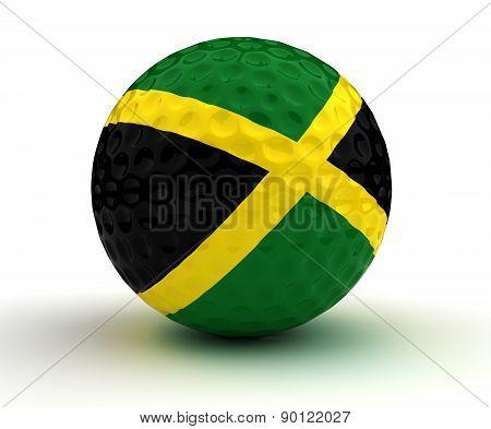 Jamaican Golf Ball