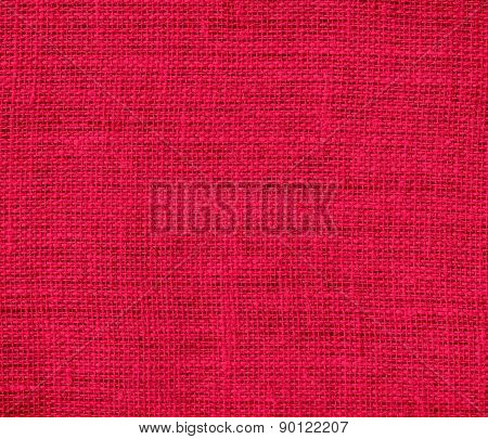 Carmine (M&P) color burlap texture background