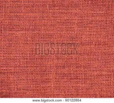 Cedar Chest color burlap texture background