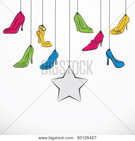 footwear banner design