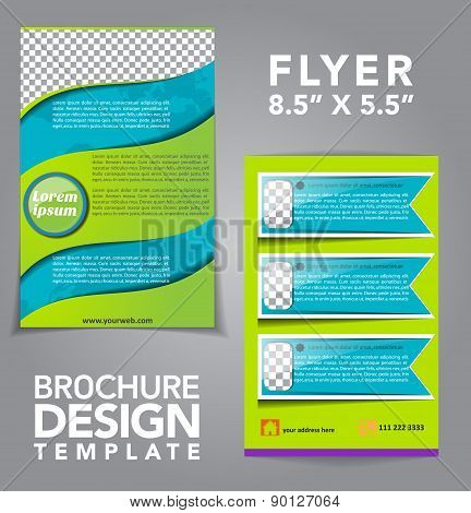 Flyer Vector Design Template