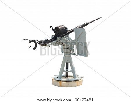 Naval Gun Isolated