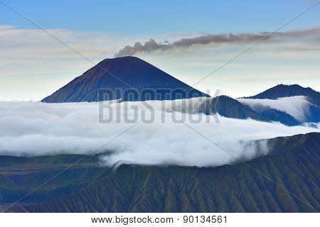 Close-up Of Mt.semeru