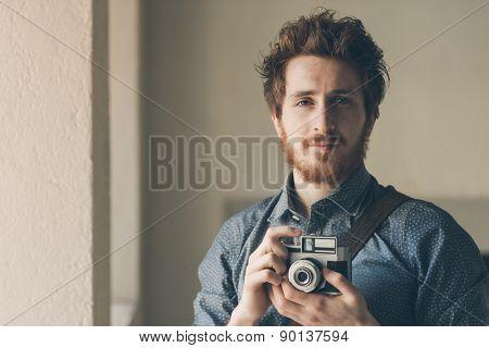 Vintage Photographer Portrait