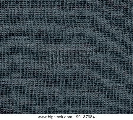 Charcoal color burlap texture background