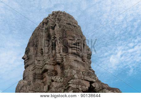 Bayon Face Tower