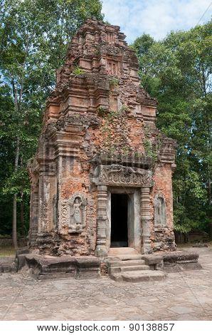 Brick Tower Of Preah Ko