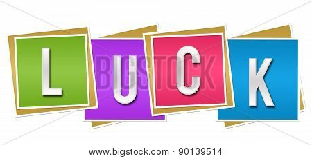 Luck Colorful Blocks
