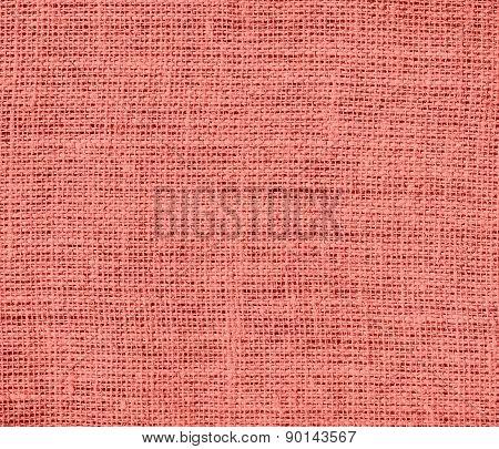 Congo pink color burlap texture background