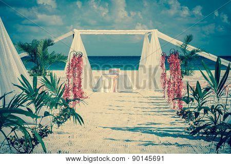 Vintage Wedding Altar