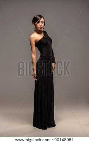 Fashion Image Of Asian Woman