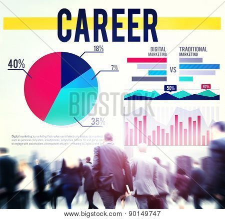 Career Job Profession Occupation Marketing Concept