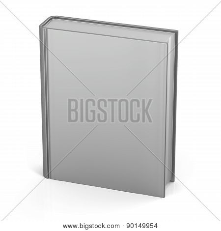 Blank  Book Clean Empty Template Single Brochure