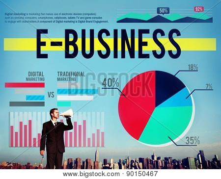 E-business Marketing Ecommerce Business Concept