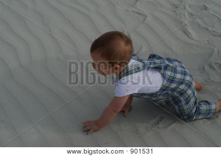 Baby On The Dunes