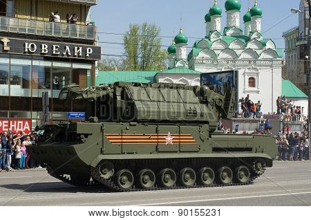 The Tor missile system is an all-weather low to medium altitude. Victory Day Parade to commemorate t